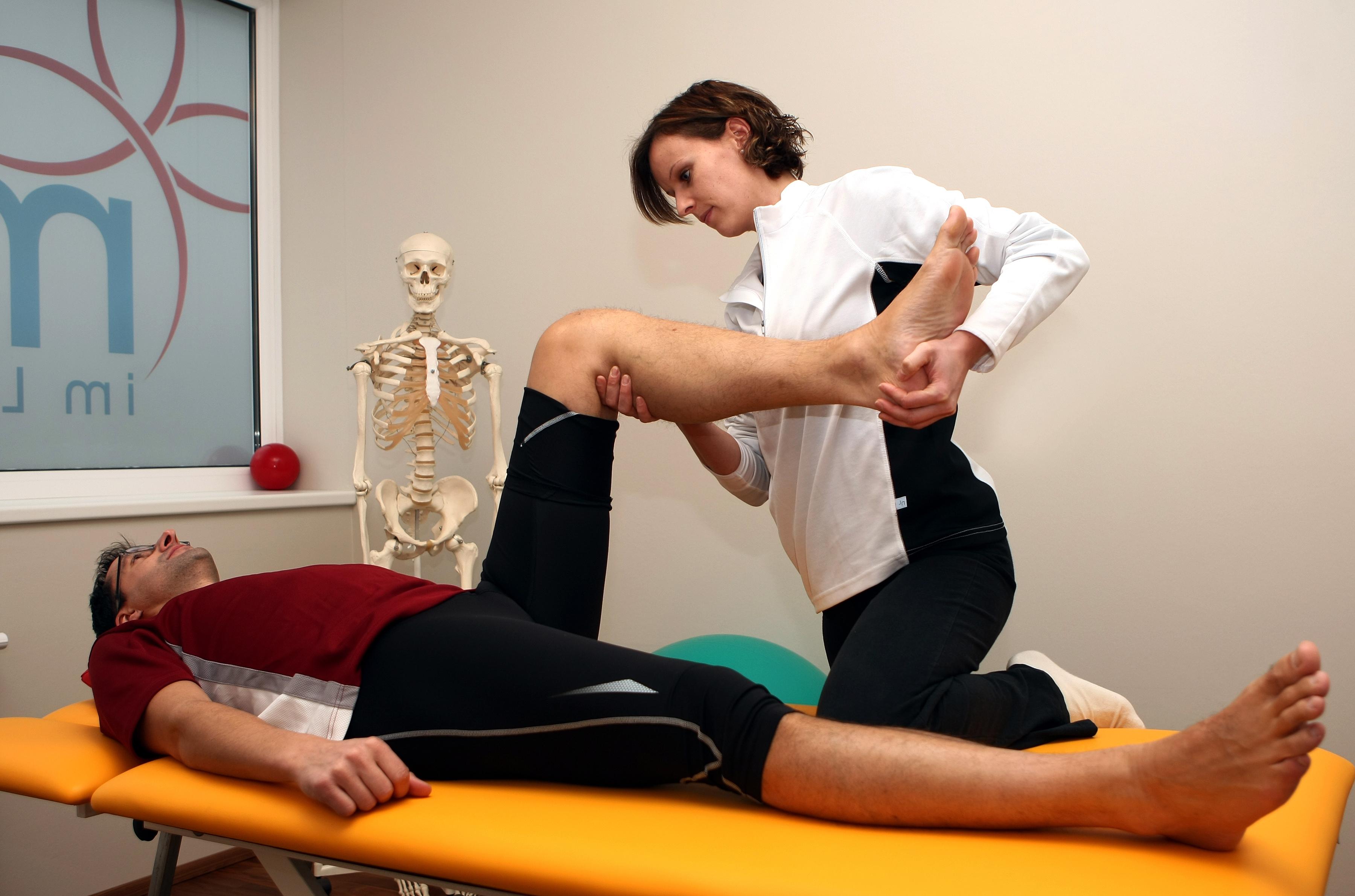 Physiotherapie Muskelverletzung Vorbeugung Dr. Markus Klingenberg Bonn