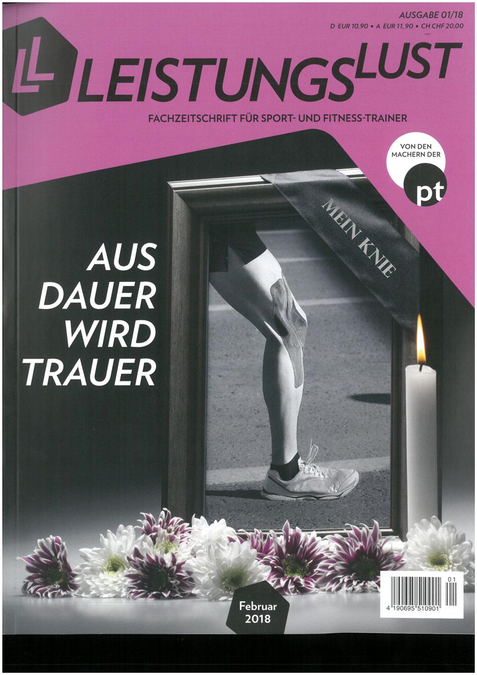Cover - Leistungslust, Aus Dauer wird Trauer