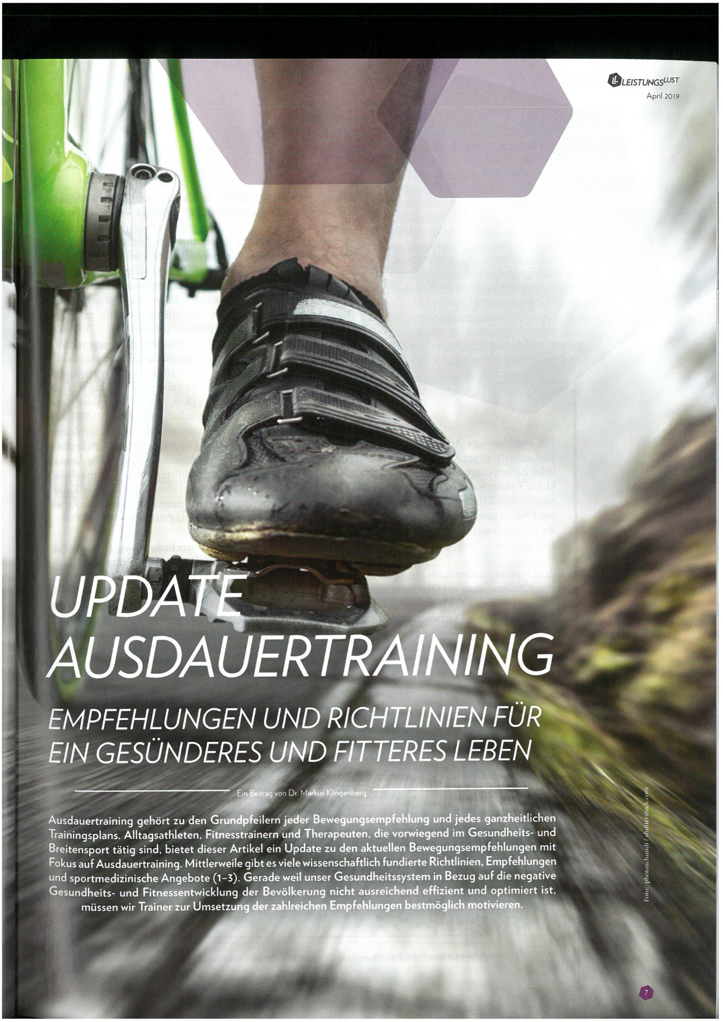 (Deutsch) Cover LeistungsLust Magazin